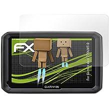 atFoliX Protección de Pantalla Garmin dezl 770LMT-D Lámina protectora Espejo - FX-Mirror con efecto espejo