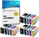PRINTING PLEASURE 15 XL Druckerpatronen für HP Photosmart 7510, 7520, B8550, B8553, B8558, C5324, C5370, C5373, C5380, C5383, C5388, C5390, C5393, C6324, C6380, C6383, D5460, D5463, D5468, D7560 / Photosmart Premium C309a, C309n, C310a, C310b, C310c, C410b, C510a, C510c | kompatibel zu HP 364XL