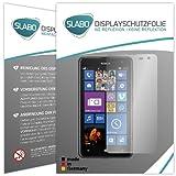 2 x Slabo Bildschirmschutzfolie Nokia Lumia 625 Bildschirmschutz Schutzfolie Folie