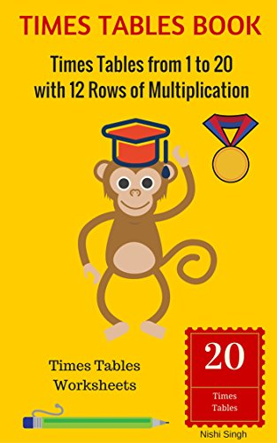 Times tables book times tables from 1 to 20 with 12 rows of times tables book times tables from 1 to 20 with 12 rows of multiplication ibookread Read Online