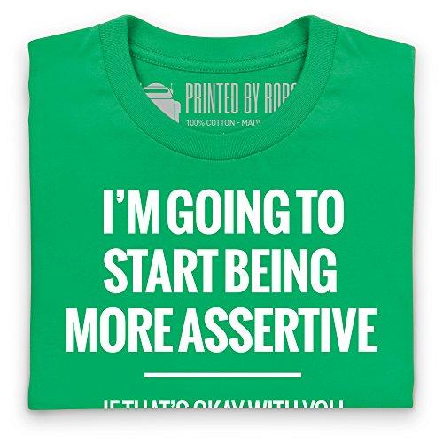 More Assertive T-Shirt, Herren Keltisch-Grn