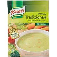 Knorr - Passato Tradizionale, di 10 verdure selezionate - 69 g - [confezione da 15]