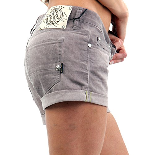 RA-RE Damen Jeans Shorts Dominique Lillac Rose 22DBC0013A Rose