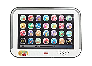 Mattel Fisher-Price CDG57 – Lernspaß Tablet, grau