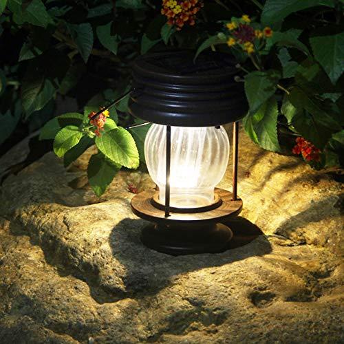solare da giardino in confezione da 2lanterne decorazione tavolo lampade LED per esterni percorso luci per albero, Pavilion, patio Classico Warm Light