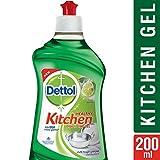 #5: Dettol Healthy Kitchen Dish and Slab Gel, Lime Splash- 200 ml