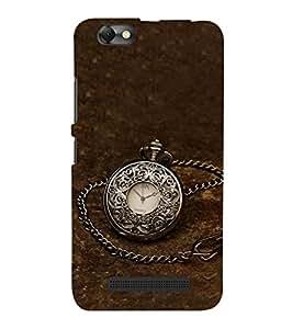 Fuson Designer Phone Back Case Cover Lenovo Vibe C :: Lenovo A2020 ( A Silver Pocketwatch )