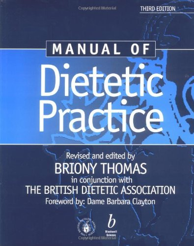 Manual of Dietetic Practice by Briony Thomas (2001-06-12)