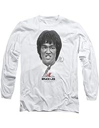 Bruce Lee - Camiseta - Camiseta gráfica - Manga Larga - Opaco - para Hombre af55a98b1e9
