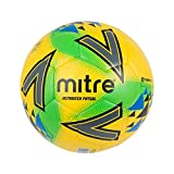 mitre Ultimatch Futsal Football Mixte, YLW/GRN/Blu, 3
