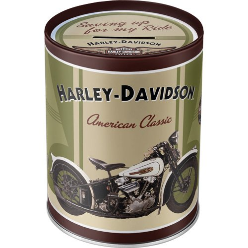 Nostalgic-Art 31002 Harley-Davidson - Knucklehead, Spardose