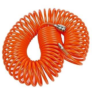 15 m Luftschlauch Druckluftschlauch Spiralschlauch Ø 5 x 8 mm Schlauch   E8