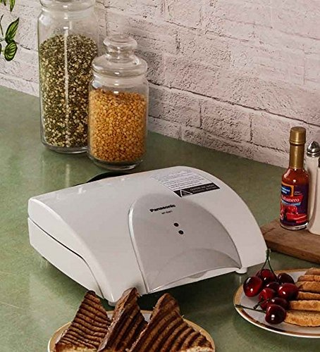 Panasonic NF-GW1 760-Watt 4-Slice Sandwich Maker