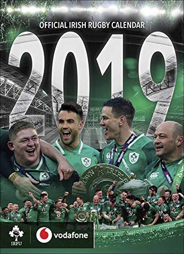 420 Rugby (IRFU Irish Rugby Offizieller Wandkalender 2019, A3, veröffentlicht von Global Merchandising)