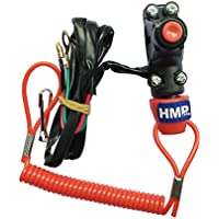 HMParts Pocket Bike Mini Moto Mini Cross Kill Switch Notschalter m. Reißleine