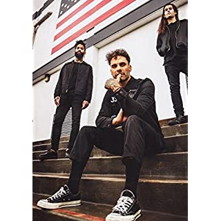 THE FEVER 333 Made in America PHOTO Print POSTER Jason Aalon Butler Walking In My Shoes Trigger Tour 2018 004 A3