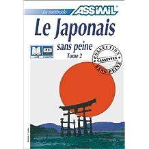 Le Japonais sans peine, tome 2 (1 livre + coffret de 4 cassettes)