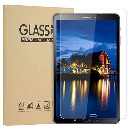 Lspcase Schutzfolie [2 Stück] für Samsung Galaxy Tab A6 10.1 Zoll SM-T580 SM-T585 Kratzfest Displayschutzfolie Gehärtetem Glas Anti-Kratzen Panzerfolie für Samsung Galaxy Tab A 10.1 Zoll