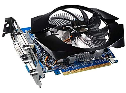 Gigabyte GeForce GT 640 2 GB DDR3 (GV-N640OC-2GI) 2X DVI VGA HDMI PCI-E - Grafikkarte 640 Gt