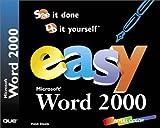 Easy Microsoft Word 2000
