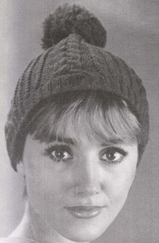 Cable Stitch Beanie Hat Stocking Cap Tam Knit Knitting Pattern (English Edition)