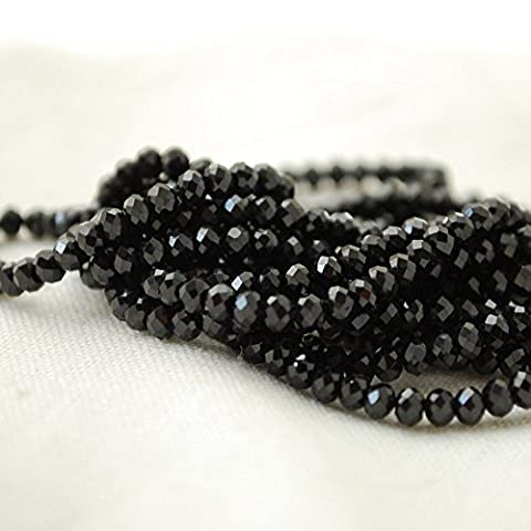 High Quality Grade A Natural Black Spinel Semi-Precious Gemstone Tiny