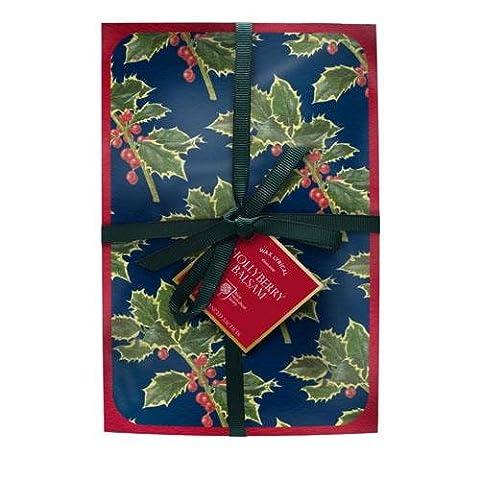Wax Lyrical RHS Jardin parfumé houx Balsam 2sachets parfumés