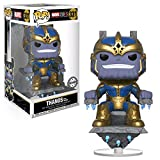 FunKo Pop! Marvel # 331 Marvel Studios 10 anni Thanos on Throne (Hot Topic Exclusive)