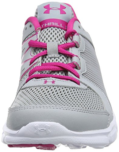 Under Armour Thrill 2, Chaussures de Running Compétition Femme Bleu (Overcast Gray 942)