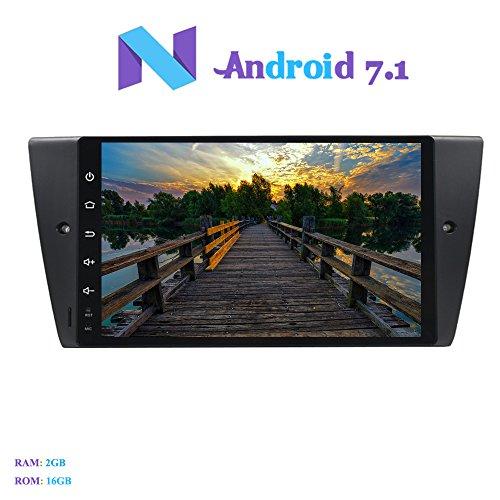Android 7.1 Autoradio, Hi-azul 1 Din Radio de Coche 9 Pulgadas RAM...