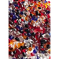 75 Grams Mixed Millefiori Glass Beads Pebbles Mosaics 8-12mm Approx 84 Pieces