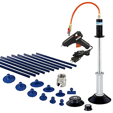 FIT TOOLS Air Suction Dent Puller Remover with 10 pcs Glue Tabs and Glue Sticks Kit by FIT TOOLS