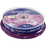 Verbatim (43666) : DVD+R DL 8x 10-pack :  Optical Media