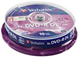 Verbatim DVD+R / 8.5 GB / 8x / 10er CakeBox / DL