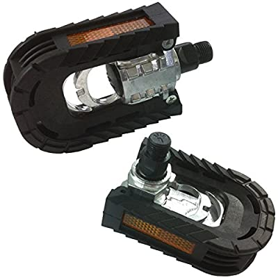 "Ultimate Hardware Alloy/Plastic Body Folding Bike Pedals 9/16"" Thread from Ultimate Hardware"