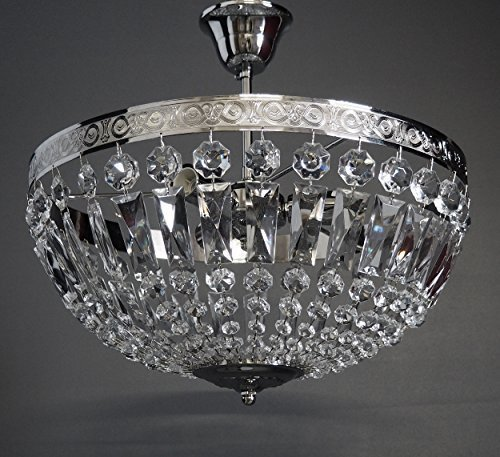 ceiling-light-old-vienna-silver-3leuchten-oe40cm-with-sparkling-glass-crystals