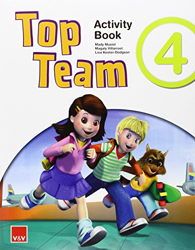 Top Team 4 Activity Book +  Cd Stories And Songs - 9788468221861