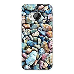 Stylish Water Pebbels Multicolor Back Case Cover for HTC One M9 Plus