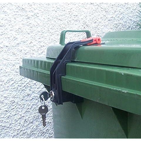 SSI Schäfer - Bloqueo para contenedores de basura (cierre uniforme)
