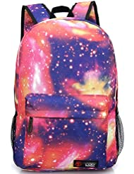 COOGLE G1 Galaxy - Mochila unisex, diseño de galaxias