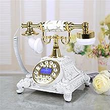 XINJING S Kreative Europische Pastorale Retro Vintage Antik Schreibtisch Telefon Drucken Home Wohnzimmer Einrichtung