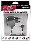 Subsonic - Home charger - Double chargeur secteur pour recharger 2 consoles en même temps Nintendo New 3DS XL, New 2DS XL, New 3DS, 2DS, 3DS XL, 3DS et DSI