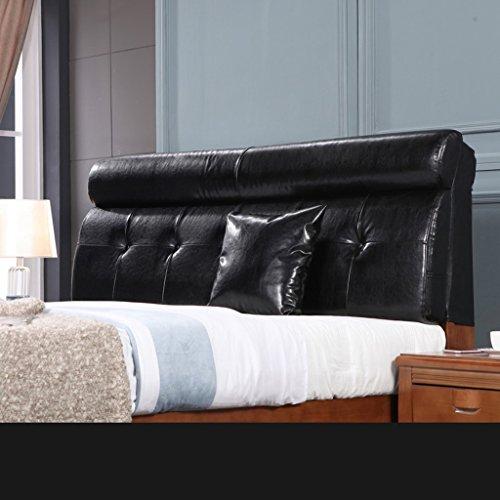 YOTA HOME Bedside Rückenlehne Modernes populäres Bettkopf-Kissen-Korn-Schutz-weiches u. Bequemes Tuch-Leinen-weiches Beutel-Bett-großes Lehnen-Kissen-waschbares 60 * 120cm (Farbe : D) -