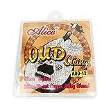 Music Lily Alice nylon and Plaqué Argent 12ficelle Oud Kit de fer (Lot de 10)