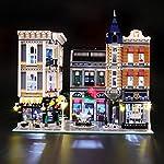 BRIKSMAX Kit di Illuminazione a LED per Piazza Assemblea, Compatibile con Il Modello Lego 10255 Mattoncini da…  LEGO