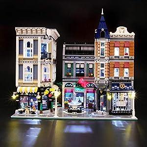 BRIKSMAX Kit di Illuminazione a LED per Piazza Assemblea, Compatibile con Il Modello Lego 10255 Mattoncini da… 0716852280209 LEGO
