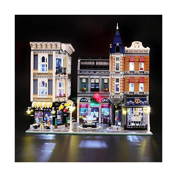 BRIKSMAX-Kit-di-Illuminazione-a-LED-per-Piazza-Assemblea-Compatibile-con-Il-Modello-Lego-10255-Mattoncini-da-Costruzioni-Non-Include-Il-Set-Lego