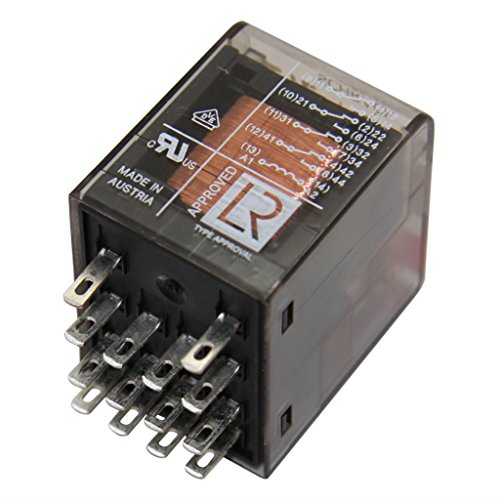 PT570730 Relay electromagnetic 4PDT Ucoil230VAC 6A/250VAC 6A/30VDC 9-1419111-1 -
