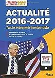 Lire le livre Actualité 2016-2017 Concours examens gratuit
