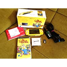 PSP Konsole Slim&Lite Simpsons gelb Limited Edition